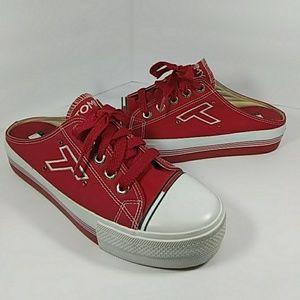 Vintage Tommy Hilfiger Red Slide Sneakers 9.5